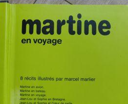 BD 8 TITRES : MARTINE EN VOYAGE