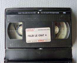 Les nouvelles aventures de Félix le Chat n° 4  VHS