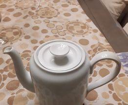 Théière porcelaine danoise vintage