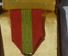 """coffret médaille bronze """"famille  française"""""""