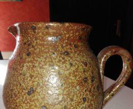 Cruche pichet broc terre cuite unique fait main