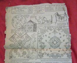 revue Dessins Piqués broderie patrons 1923