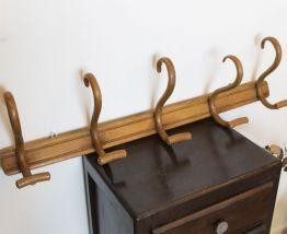 Porte manteau ancien en bois thonet