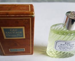 Miniature after shave Christian Dior Eau Sauvage