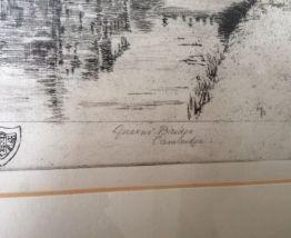 gravure anglaise originale