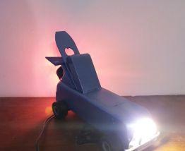 Lampe style voiture