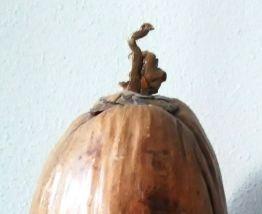 Bac à glaçons en noix de coco véritable-Artisanat