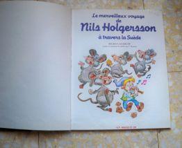 Livre pour enfants Nils Holgersson