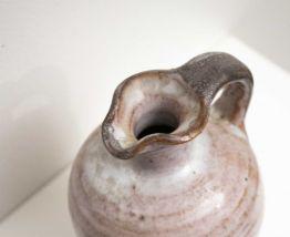 Petite cruche en grès ancienne vintage
