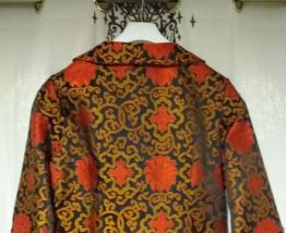 Veste chinoise en soie vintage