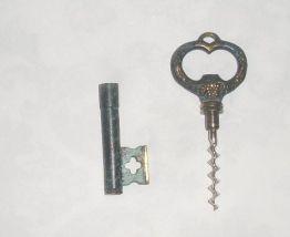 Tire Bouchons décapsuleur en laiton forme de clé