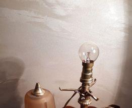 lampe bronze 1900  art nouveau