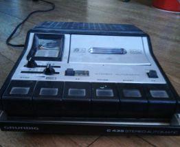 Grundig lecteur cassette