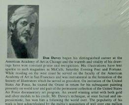 Don Davey - New Orleans - 2 dessins 1976  sous verre