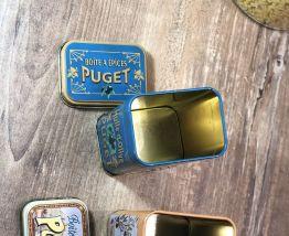 2 Boîtes à épices métalliques PUGET