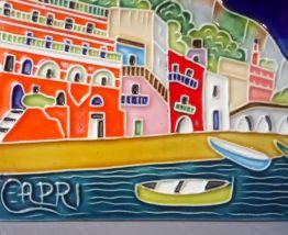 """Carreau en céramique émaillée """"Capri"""""""