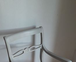 Lot de 2 fauteuils anciens style Regency