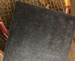 Lot de 3 ardoises anciennes d'école cartonnées