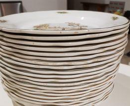 assiettes plate digoin