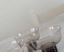 Coupettes à Champagne vintage années 70 (x4pc)