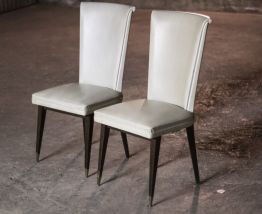 Paire de chaises années 70 vintage