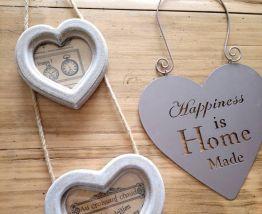 Cœurs en bois, en fer.....