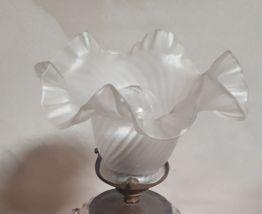 lampe fer forge et cristal  1920