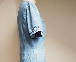 robe en jean vintage taille 38