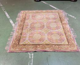Tapis en laine fait main 1m63x1m30