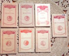 """Lot de 15 """"Les classiques pour tous"""" Librairie Hatier"""