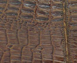 Sac à main en crocodile vintage