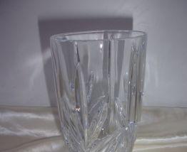 5 grands verres à eau en cristal