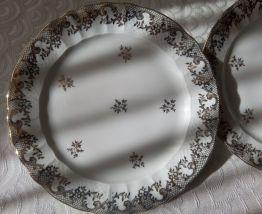 Service à gâteau Porcelaine de LIMOGES FRANCE B&Cie