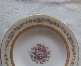6 assiettes creuses Porcelaine de LIMOGES NARDON LAFARGE