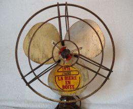 Ventilateur vintage pour décoration, collectionneur années 1