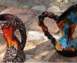 3 pichets Vallauris vintage année 60
