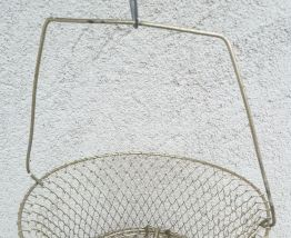 Nasse panier de pêche Vintage