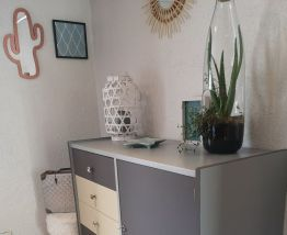 Meuble commode vintage