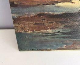 Paysage de Bretagne de Lucien Fournet.