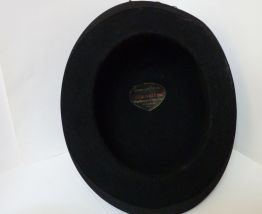 Véritable chapeau melon ancien T60 Chapellerie à Rouen