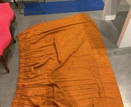 Rideaux Orange Annees 70