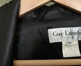 Blouson soie Guy Laroche ample et satiné