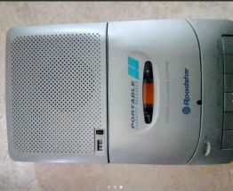 magnétophone cassette audio+ 3 cassettes vierges