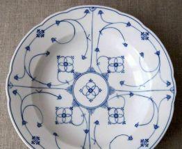 assiette creuse en porcelaine