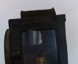 Ancienne lampe de cocher fiacre authentique