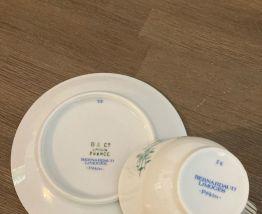 Tasse à café porcelaine Bernardaud