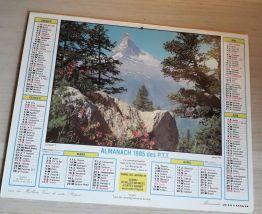 Almanach ptt 1985