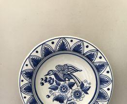 Plat decoratif ceramique (ou Corbeille à fruits) Chacón Tala