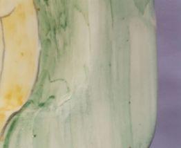 Faience Poet laval:Assiette décorative