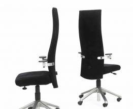 Burkhard Vogtherr: une paire de chaises de bureau à roulette